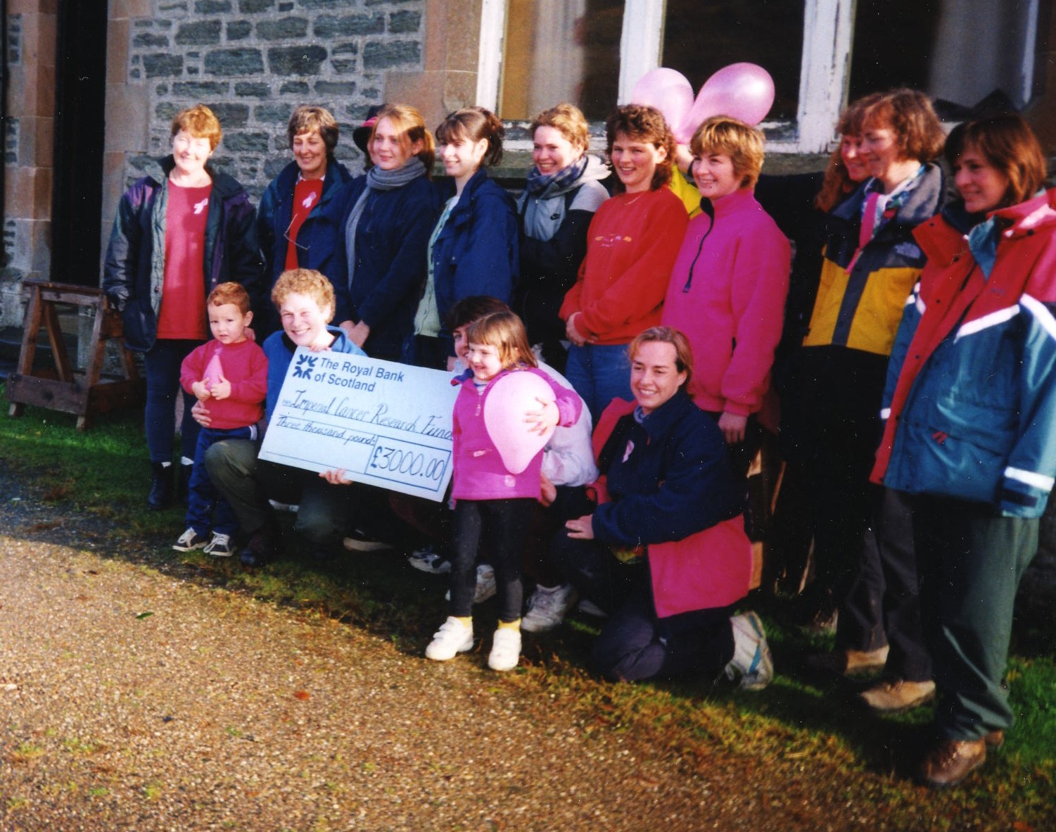 Sponsored walk in aid of Breast Cancer