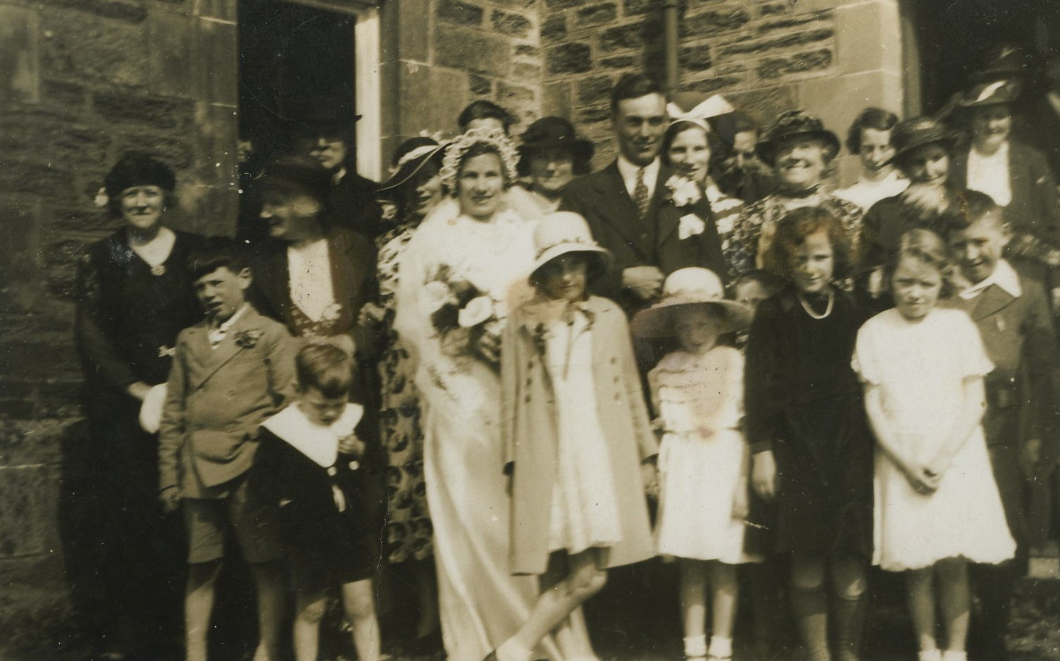 John Shaw & Helen (Nellie) McNair's Wedding
