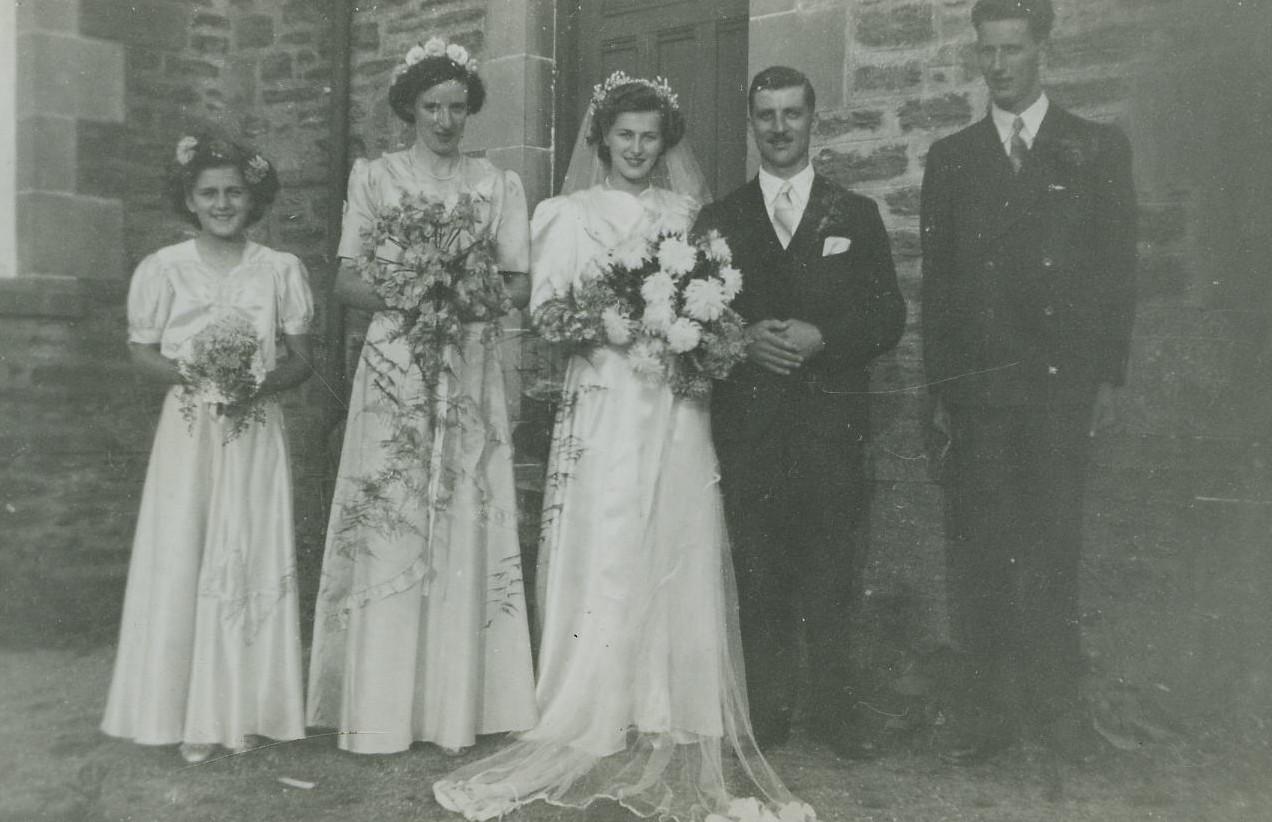 Douglas Luke & Rita Hubble's Wedding