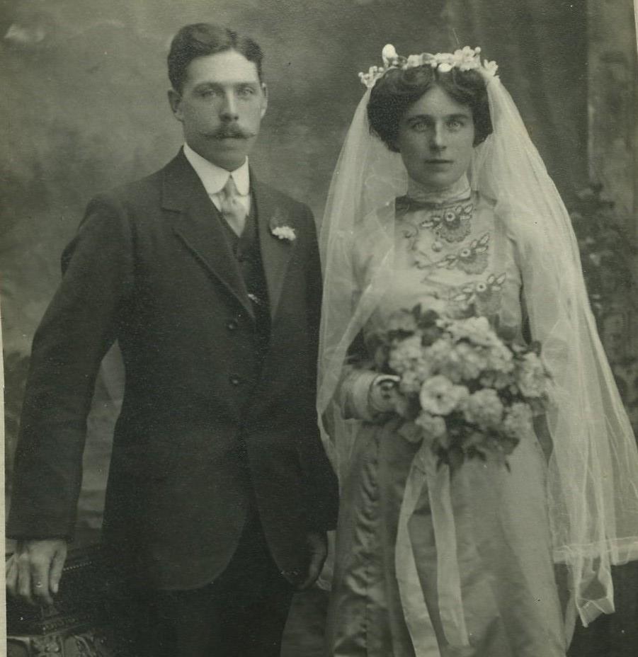 Archie McVicar &  Mary McDougal's Wedding 1913