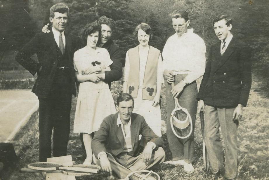 Mr Kydd, Angus McGilvary, May McGilvary, Ella Luke