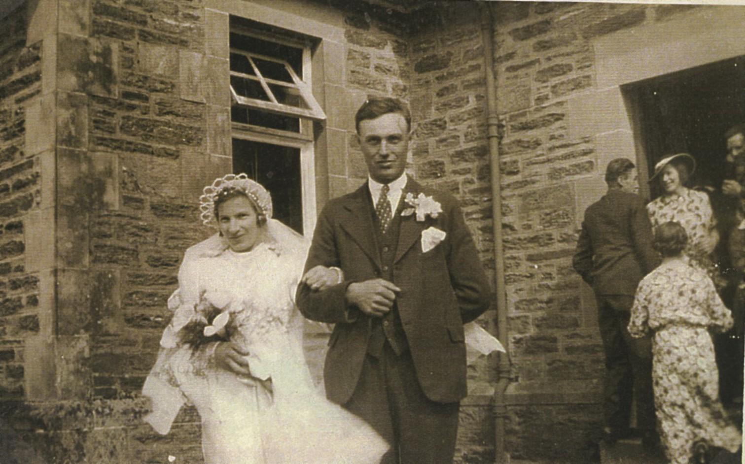 Nellie McNair & John Shaw's Wedding