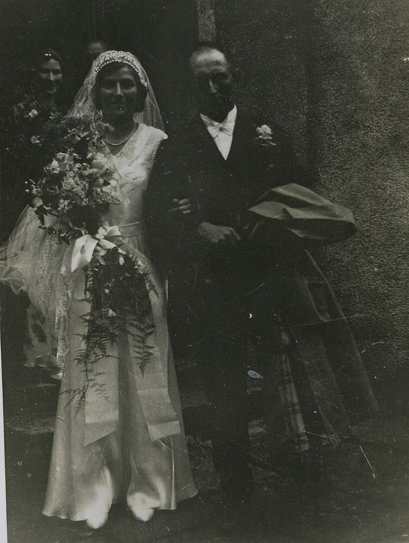 Jock Cameron & Elspeth Luke's Wedding