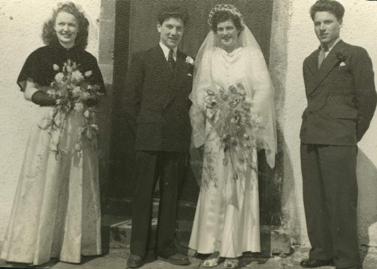 Bobby Callander & Ann Donald's Wedding