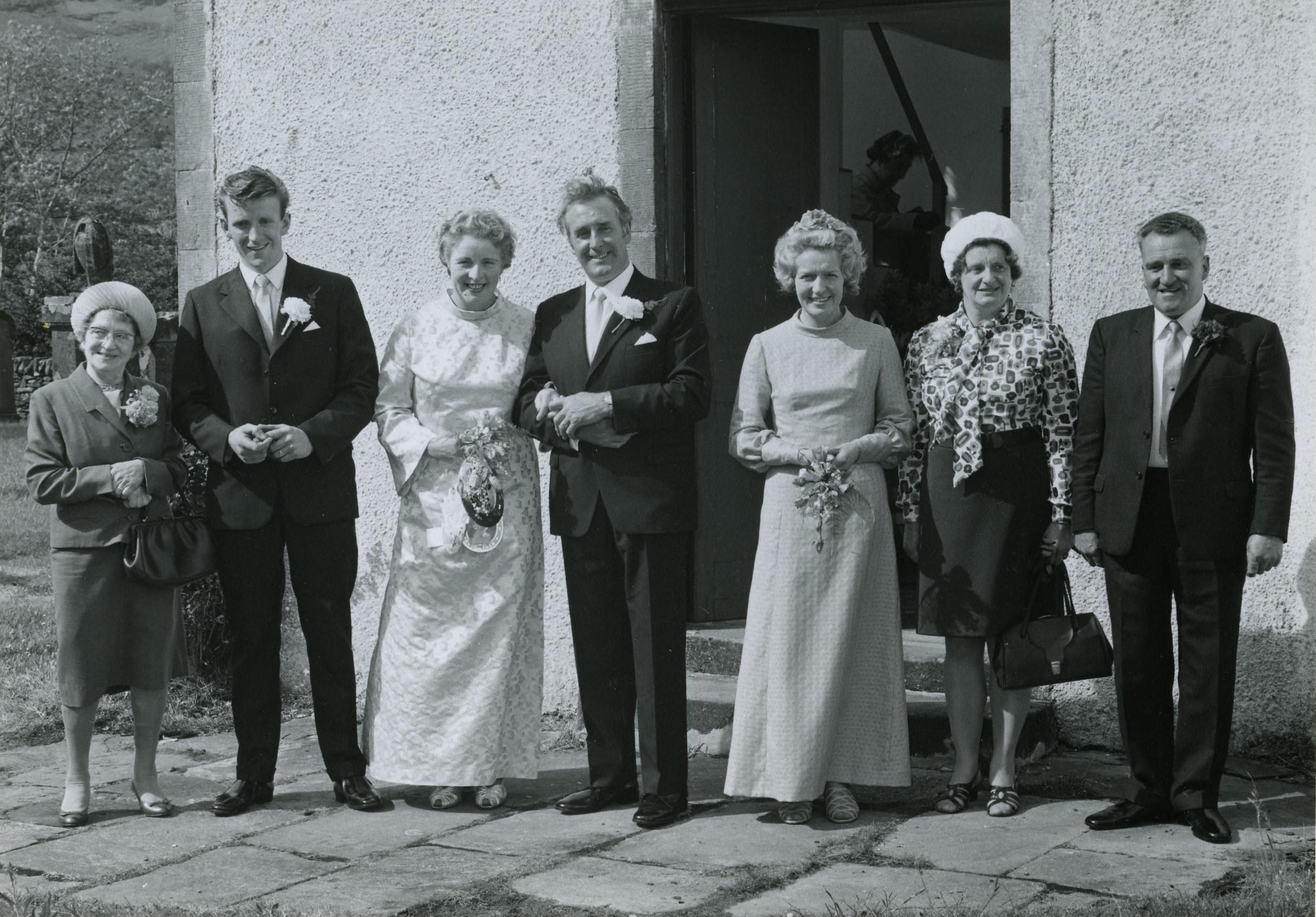 Donald MacPherson & Betty Lang's Wedding