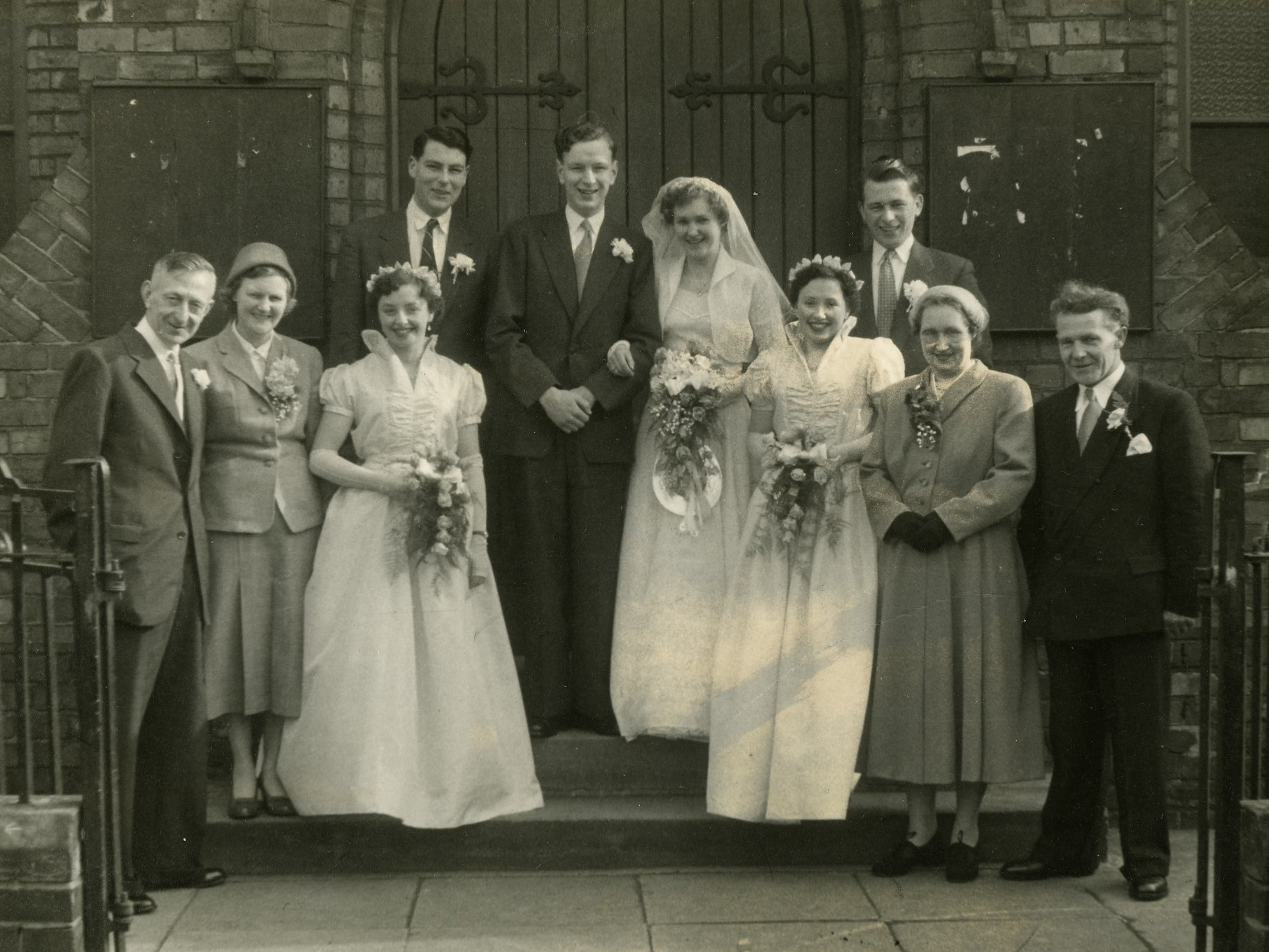 Edwin Ward & Isobel (Ishie) Shaw's Wedding