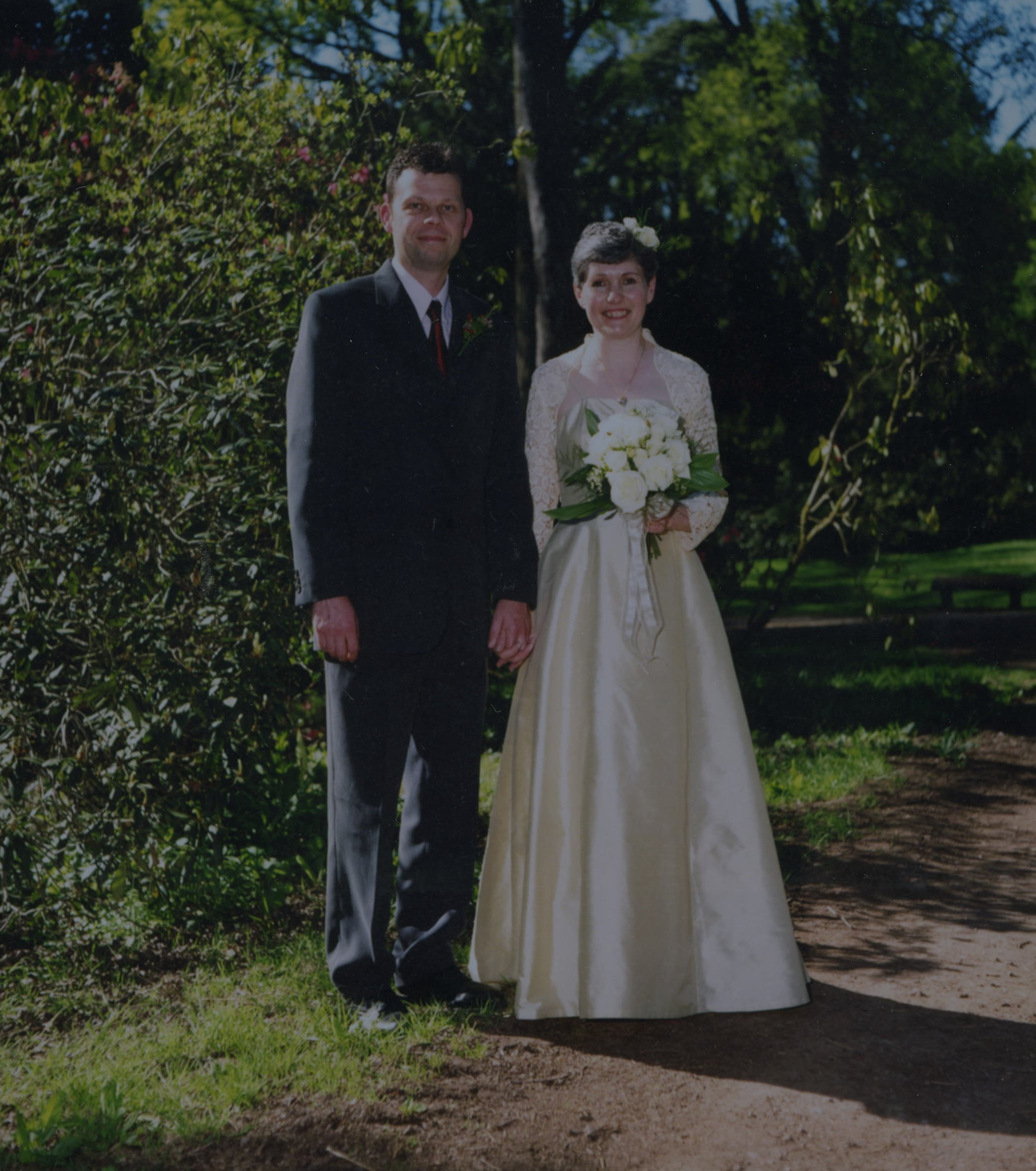 Glyn Toplis & Julie Penny's Wedding