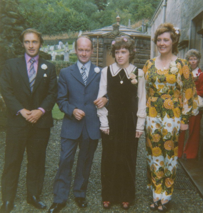 Neil MacDiarmid & Ina MacKinnon's Wedding