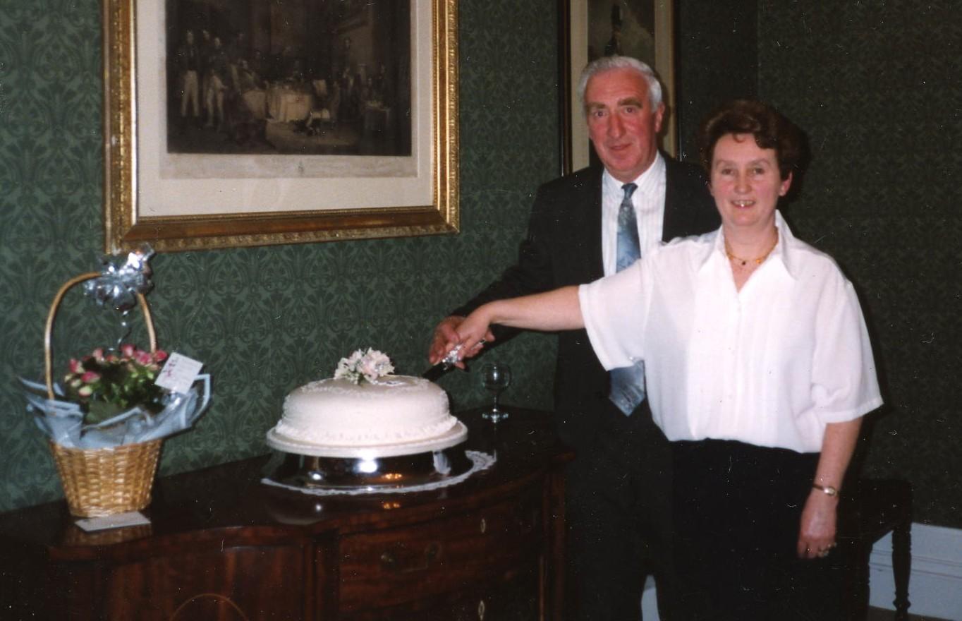 Johnny & Margaret Baker's Silver Wedding