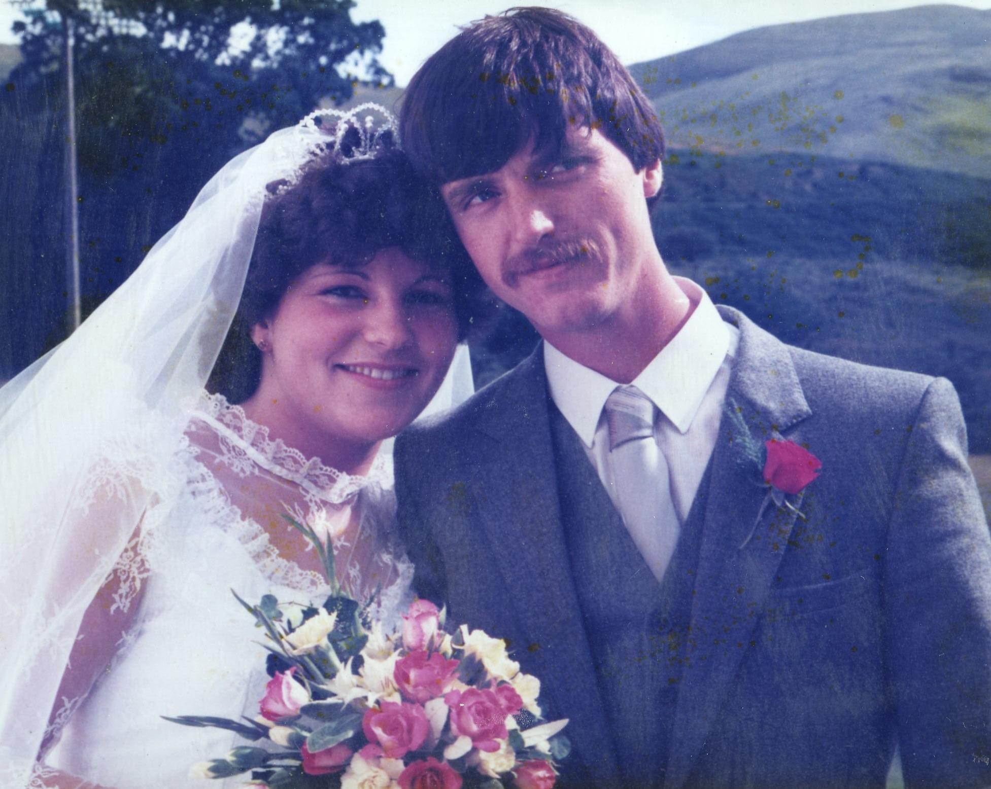 Willie Findlay & Juanella's Wedding
