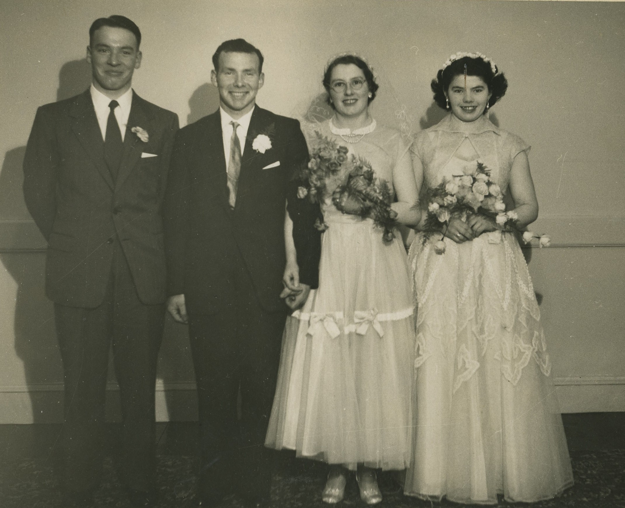 Archie MacCallum & Ethel Wood Wedding