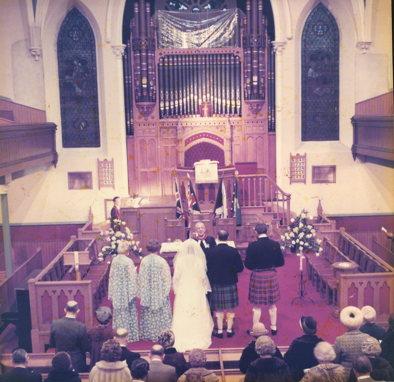 Stewart Keith & Morag Anderson Wedding