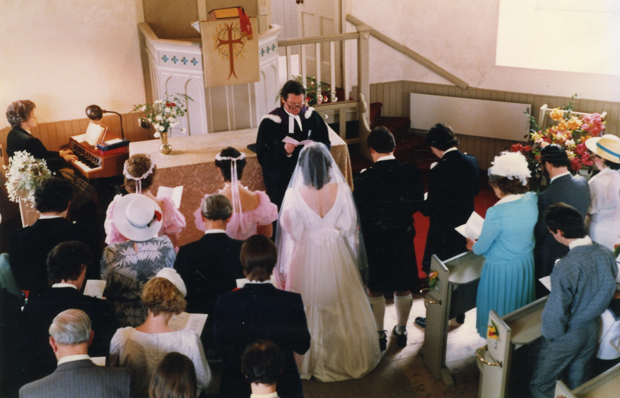 Paul Chalmers & Dot Beattie's  Wedding