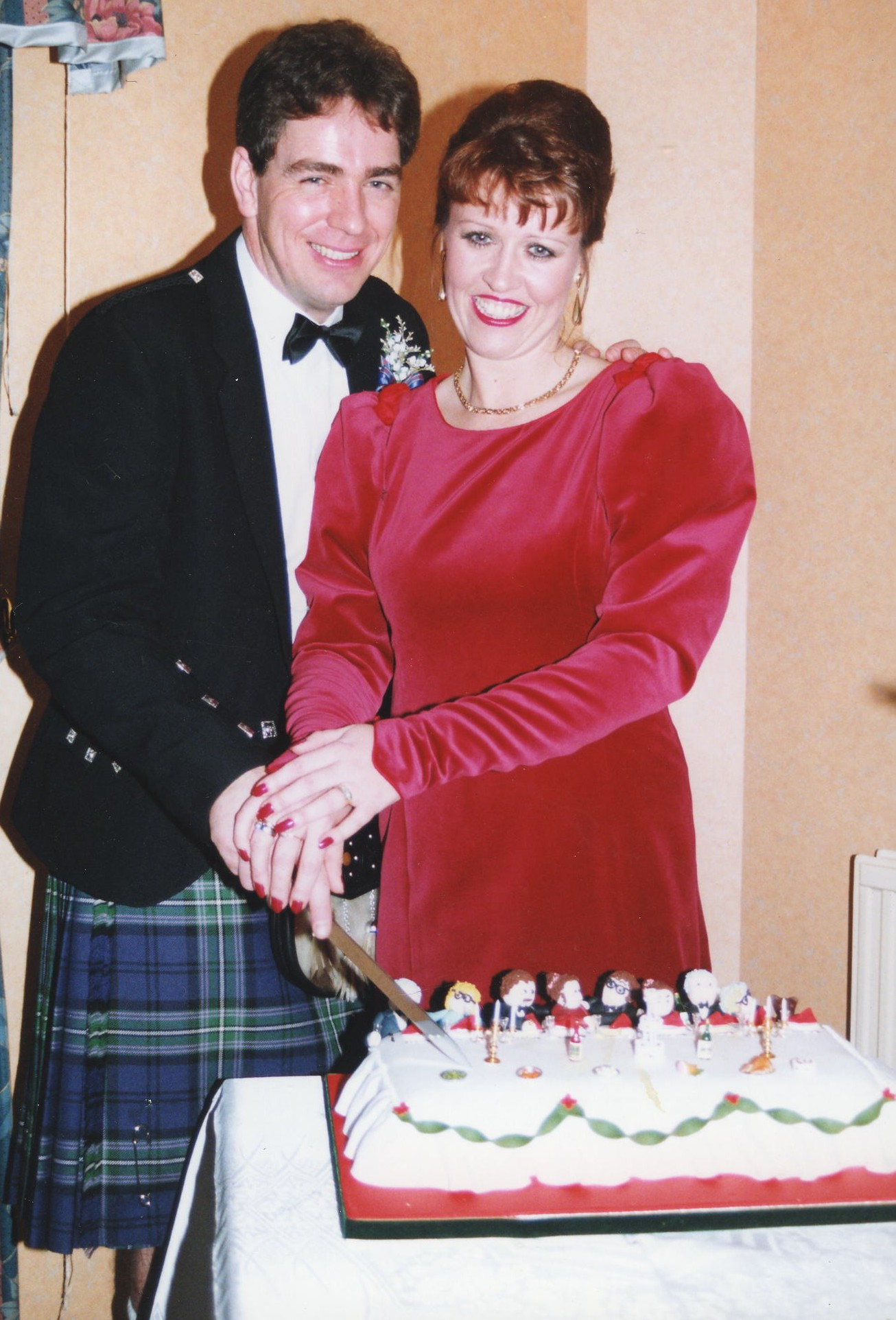 David Whyte & Lorna Wilson's Wedding