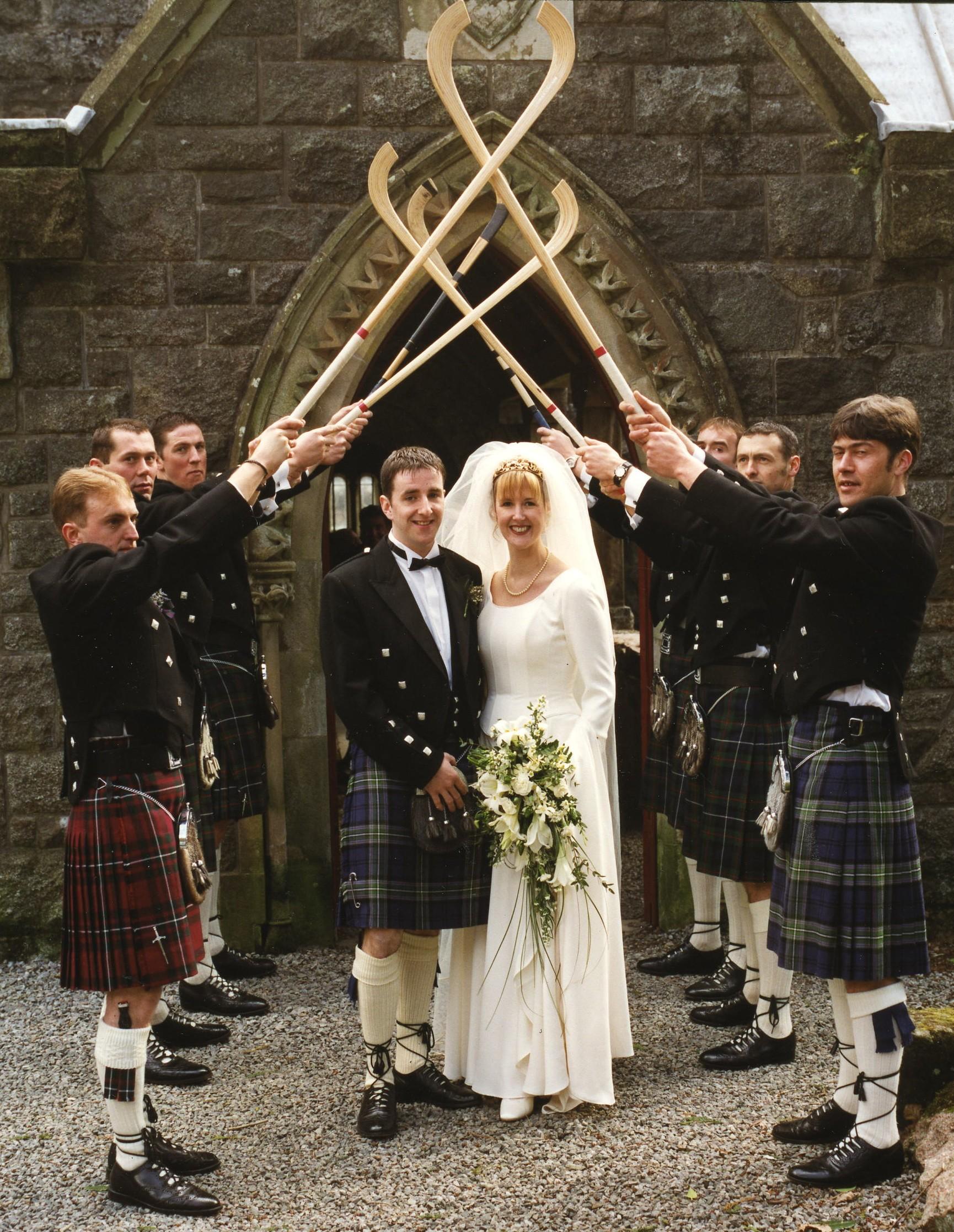 Garry MacPherson & Jackie Gunn's Wedding