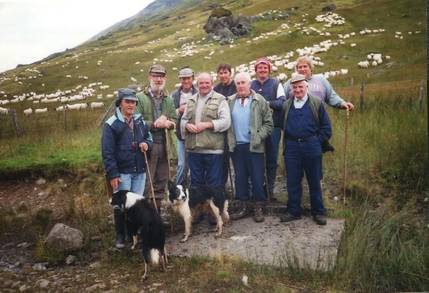 Shepherds in Glen Fyne
