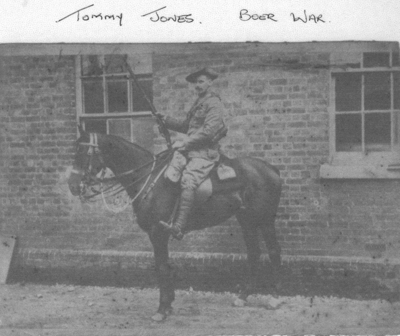 Tommy Jones (Boer War)
