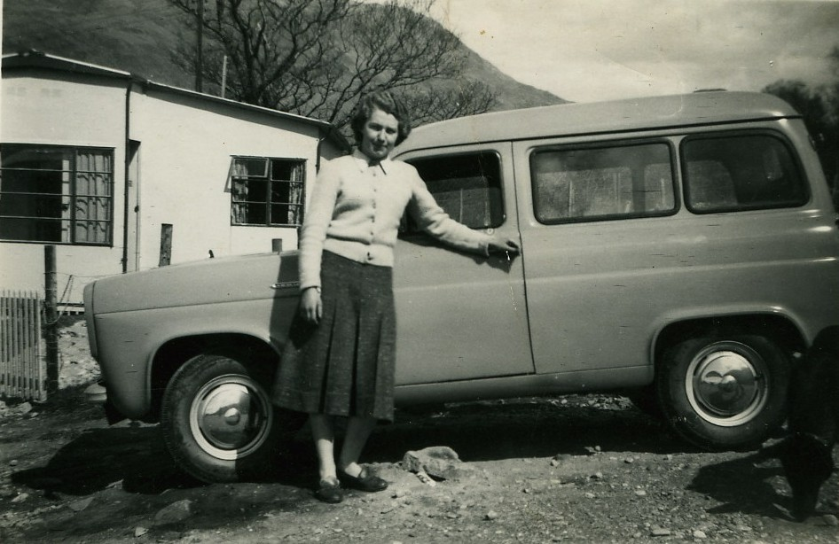 Betty Harper at Westholm Prefabs