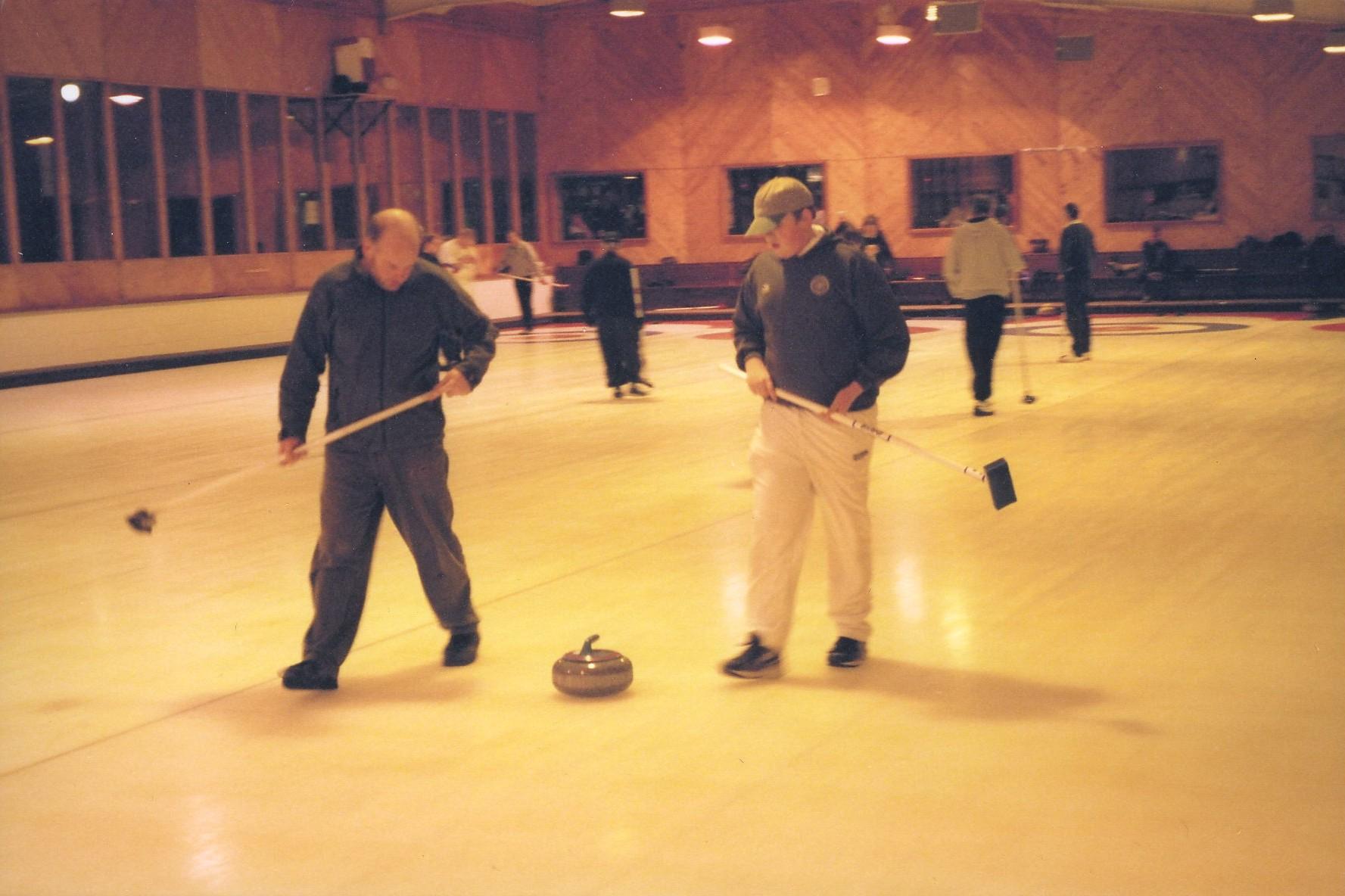 Curling Drymsinie