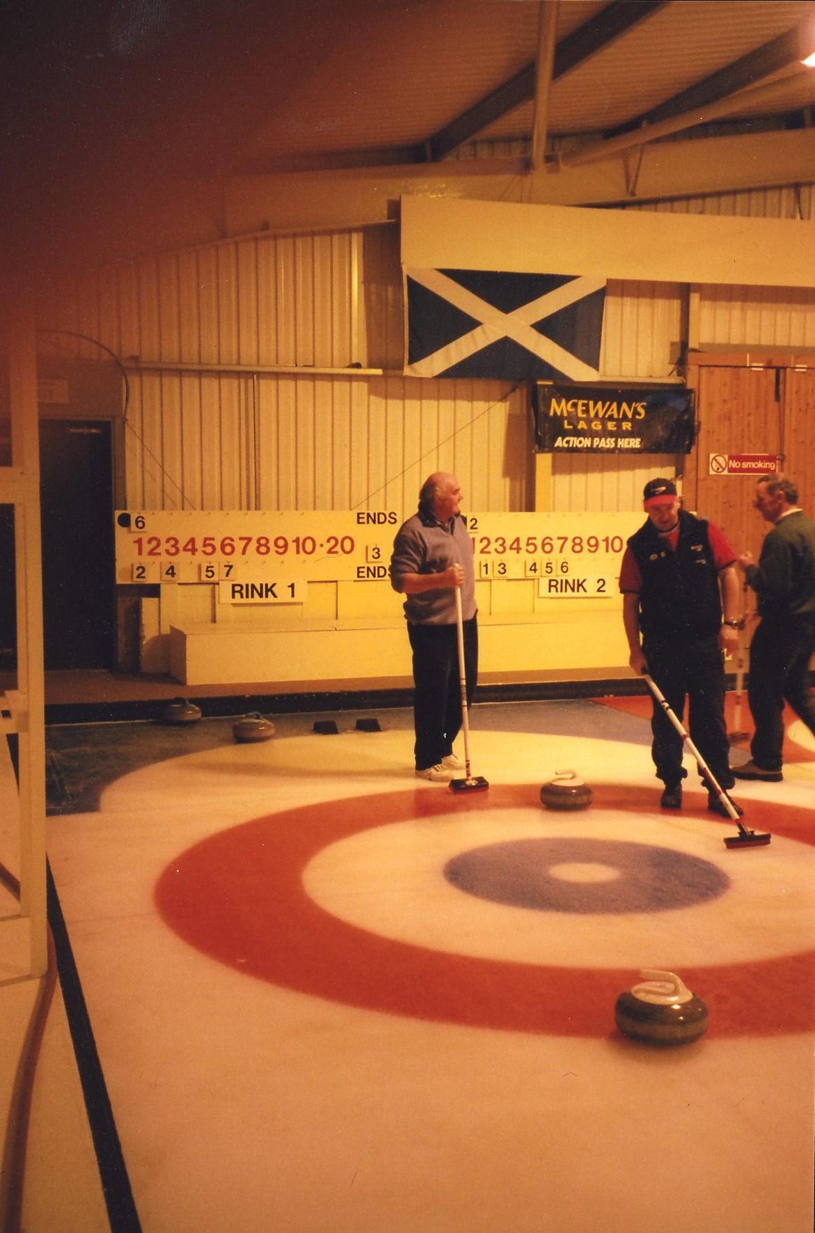 Curling Drimsynie