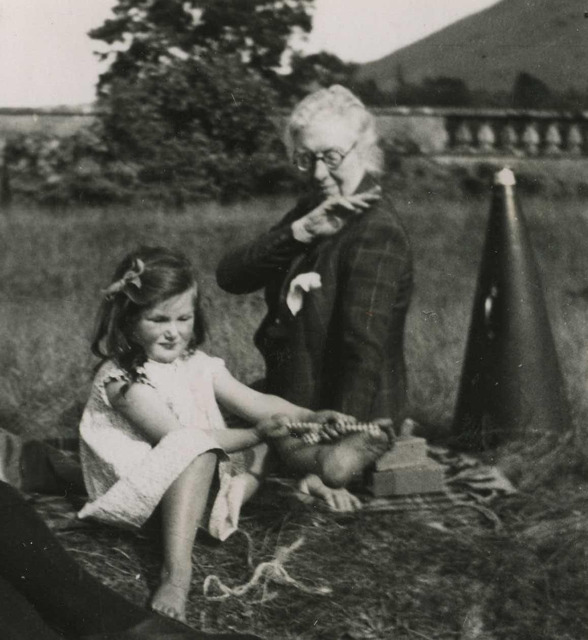 Daisy Powell-Jones and Christina Noble
