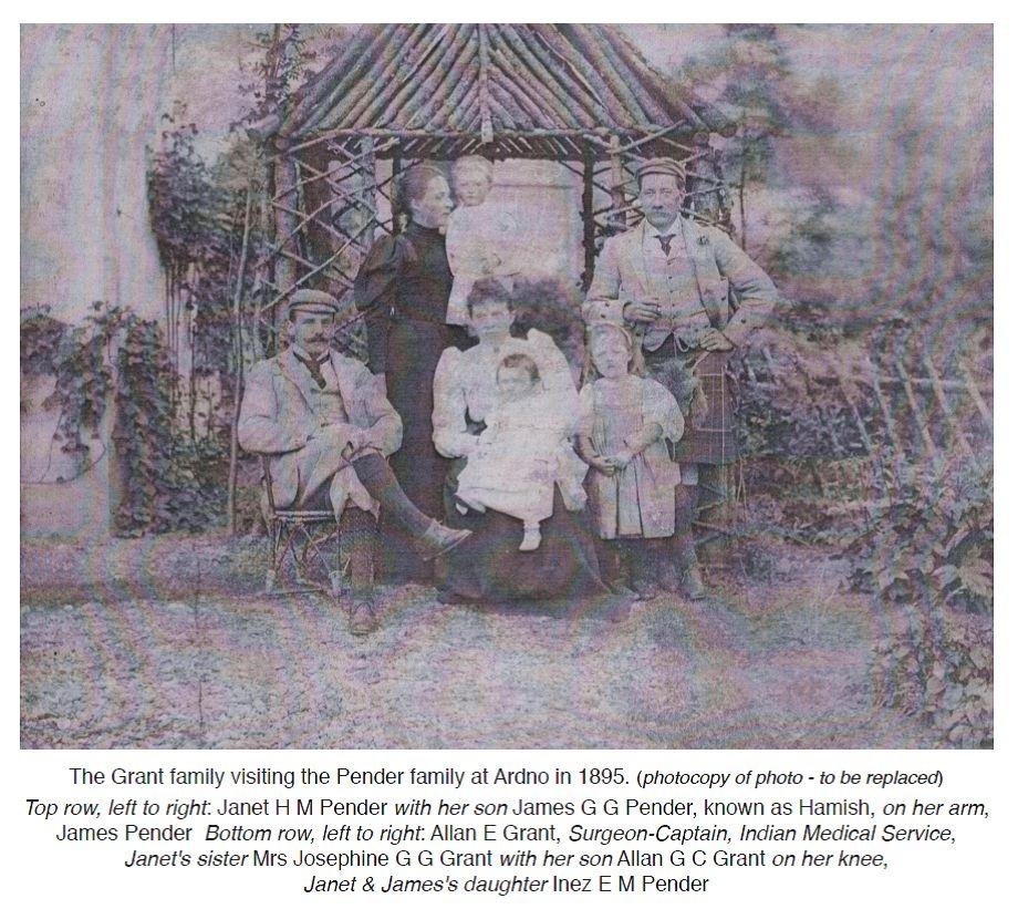 Pender Family at Ardno 1895