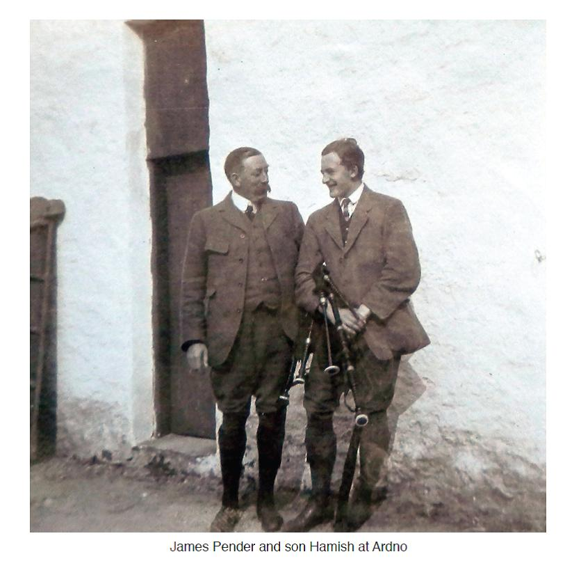 James and James (Hamish) Pender