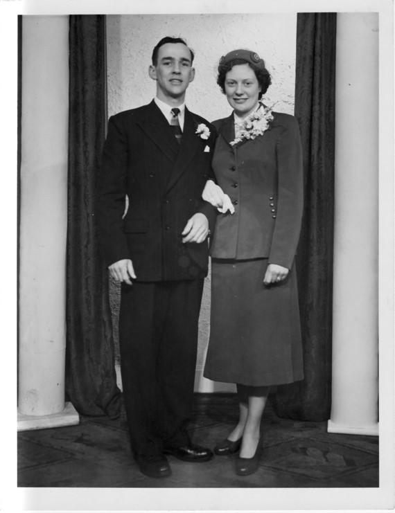 Harry Borland and May MacPhersons Wedding