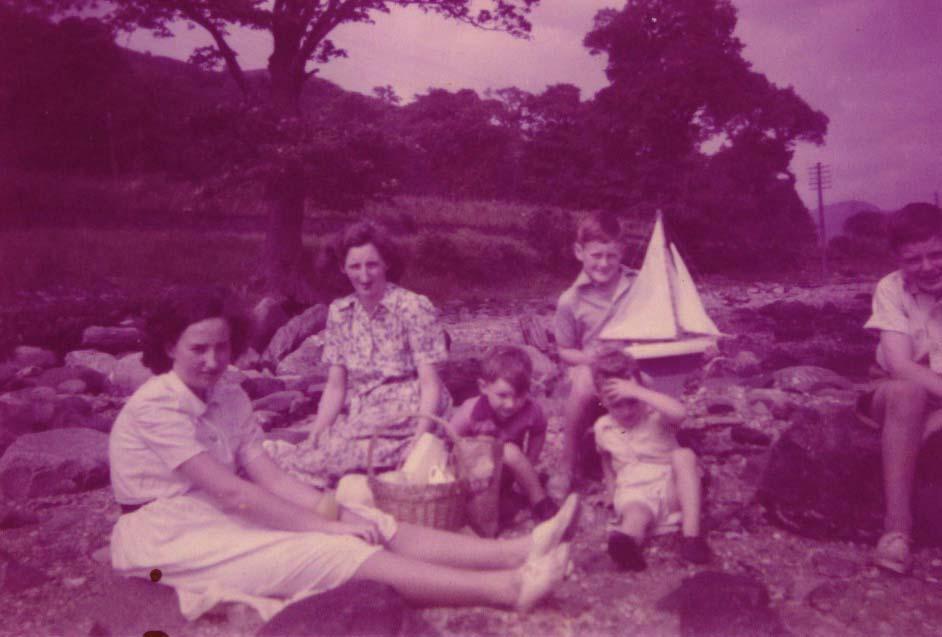 Alice Beattie and family