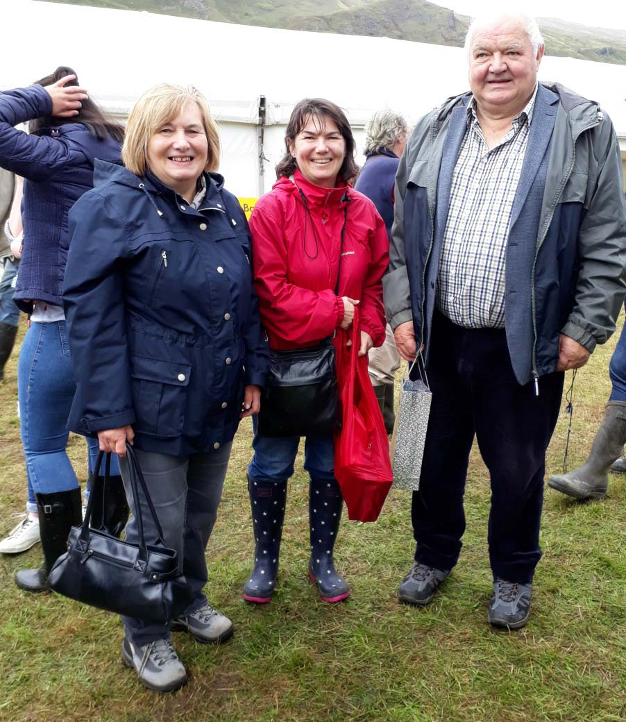 Christine, Alison and Alistair MacCallum