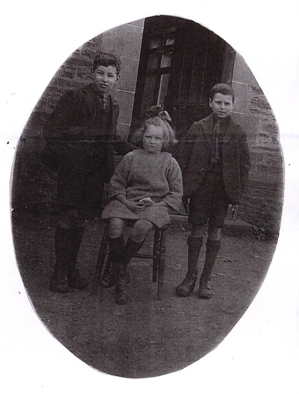 David, Nancy and William Jones
