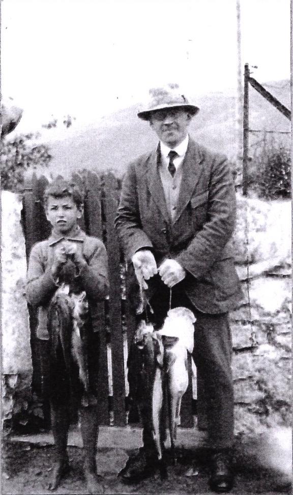David Jones with fisherman