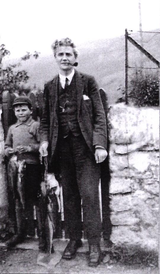 William Jones with fisherman