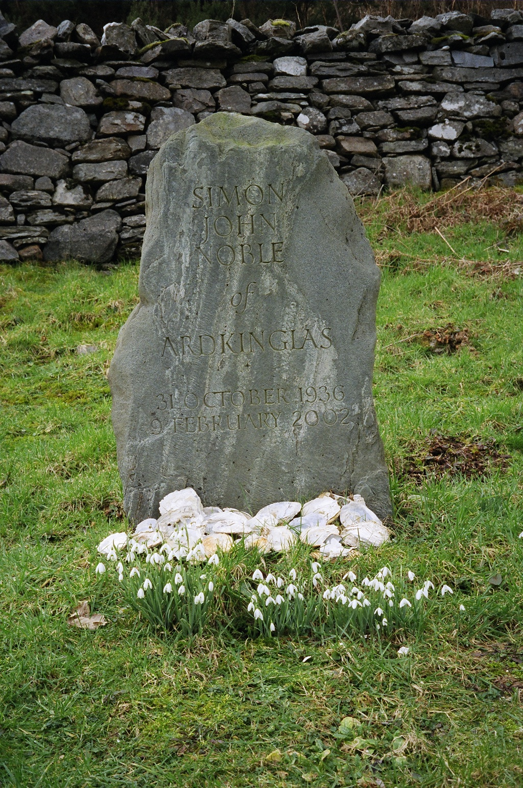 Johnny Noble's Gravestone